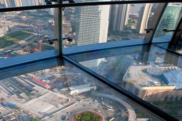 Pisos de vidrios en el mundo-Pinterest