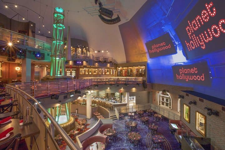 Planet Hollywood en Orlando. Foto: museument.com