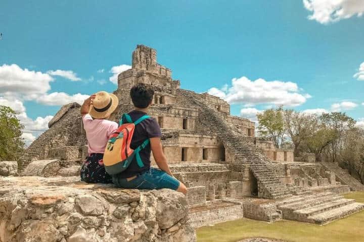 Qué tal una visita a Edzná en Campeche.Foto.Plan B Viajero.2