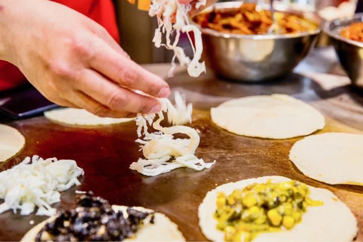 Quesillo o queso Oaxaca.Foo.Doce Chiles.4