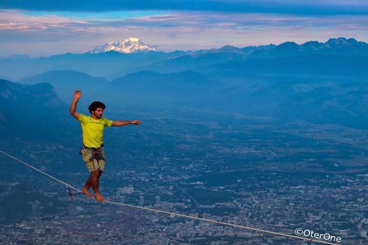 Récord de caminata de altura. Foto: blog.slack.fr
