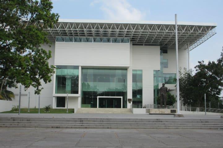 Museo antropológico. Imagen: Villermosa. Archivo