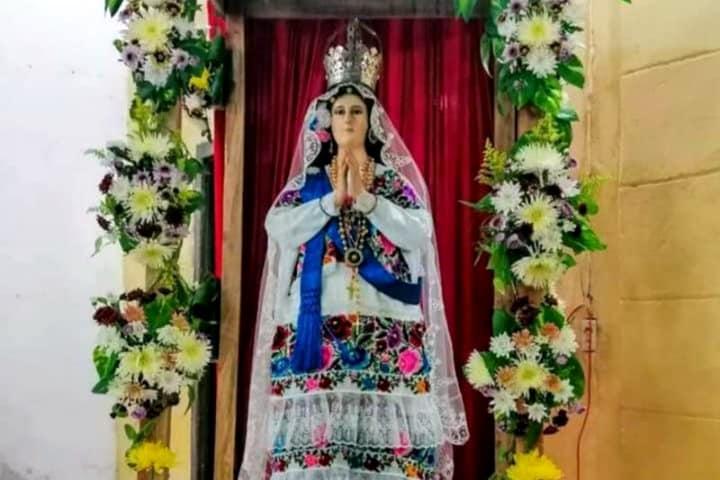 Virgen de la Natividad.Foto.El Diario de Yucatán.8