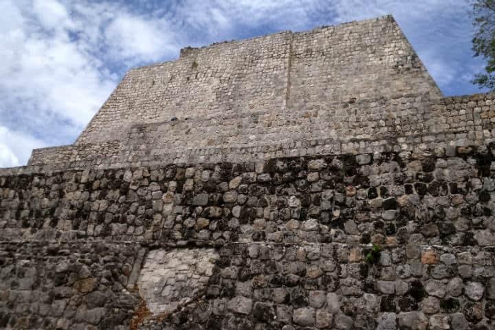 Zona arqueológica de Edzná en Campeche.Foto.Velez_19670.3