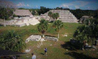 Zona arqueológica maya Xcambó, lo primero de la cultura Maya. Portada. Imagen. Archivo