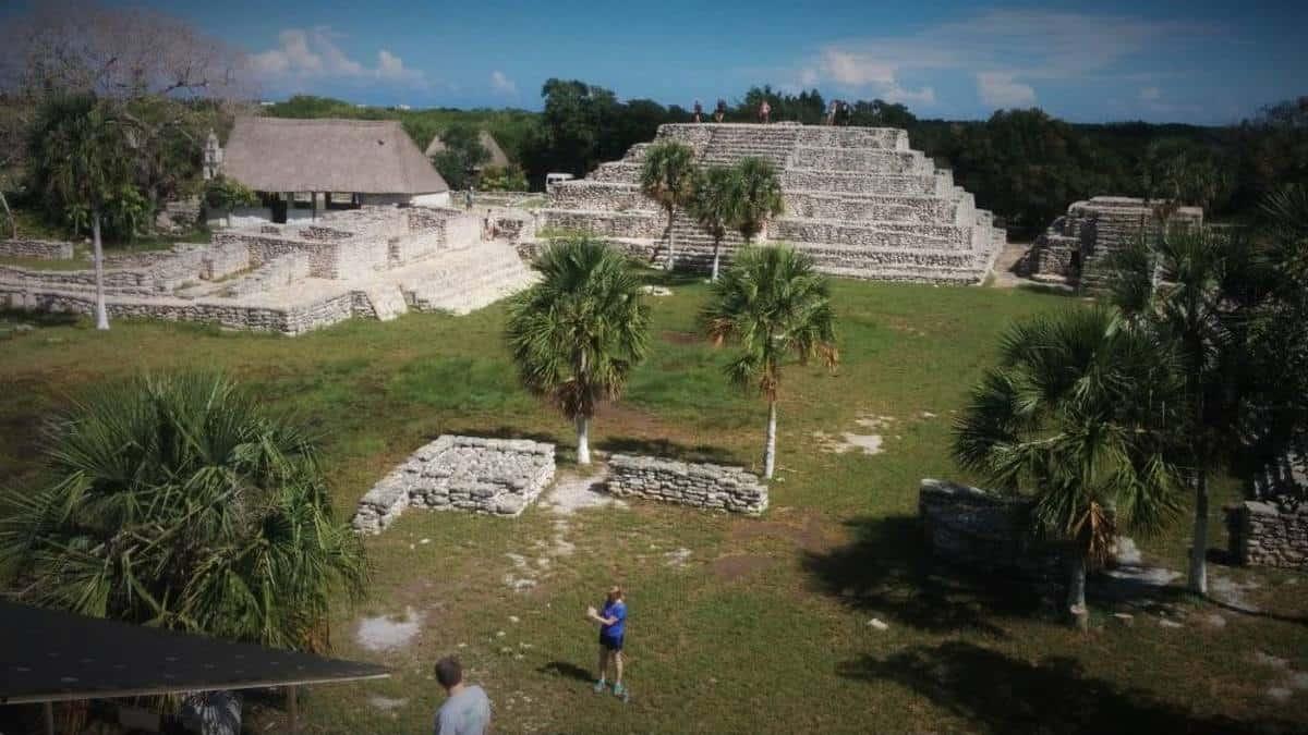 Zona arqueológica maya Xcambó, lo primero de la cultura Maya. Portada. Imagen. Archivo 13