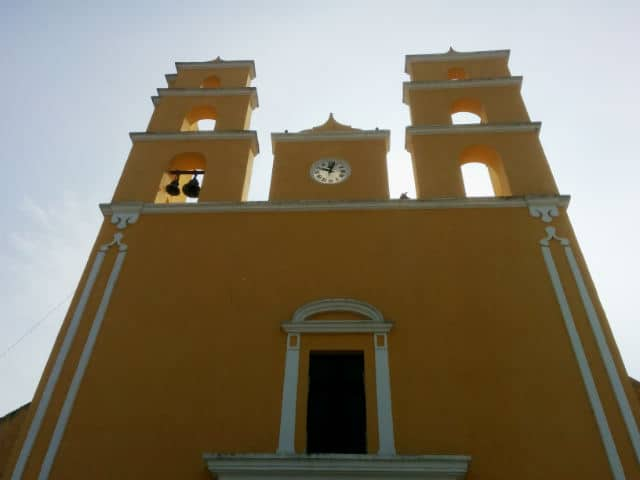 acanceh fachada iglesia