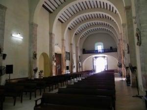 acanceh iglesia interior