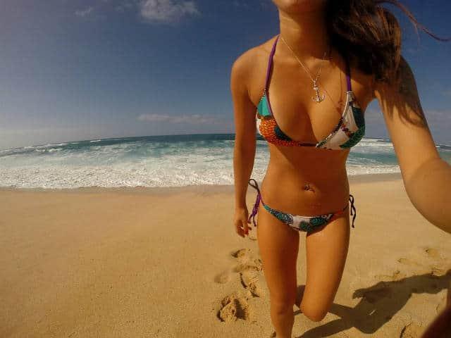 bikini playa BOMBTWINZ