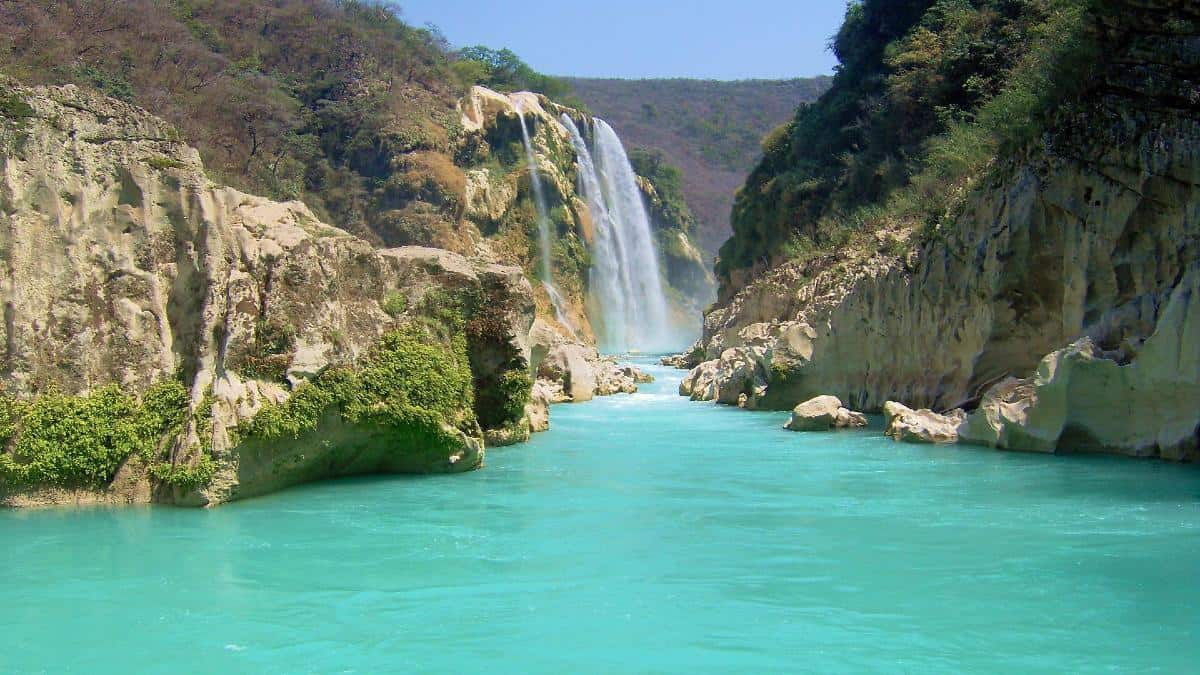 Video Cascada de Tamul en la Huasteca¡No te lo pierdas!