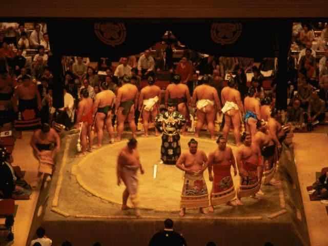 sumo japon
