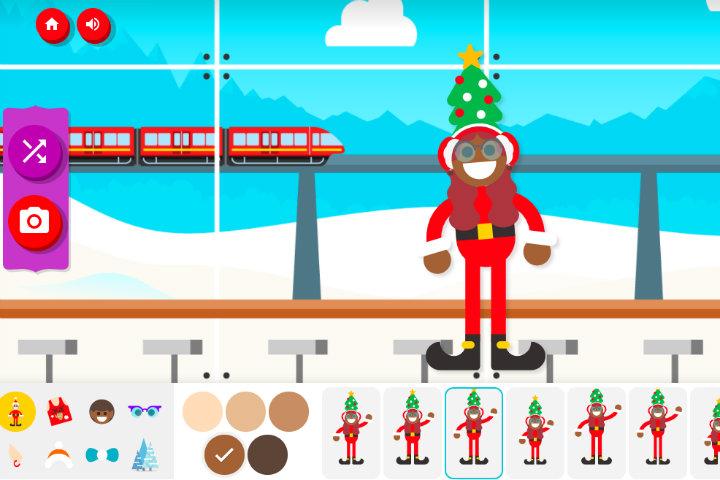 ¡Incluso podrás personalizar tu duende! Foto Google Santa Tracker