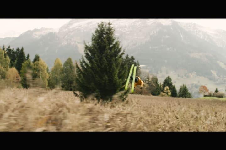 ¿Cómo esquiar sin nieve_