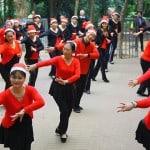 china navidad mujeres