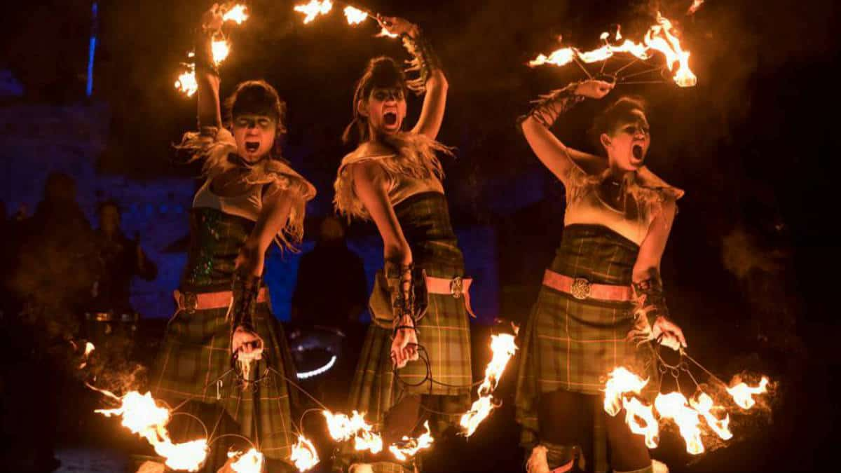 festival del fuego. Imagen: Edimburgo. todo sobre travel