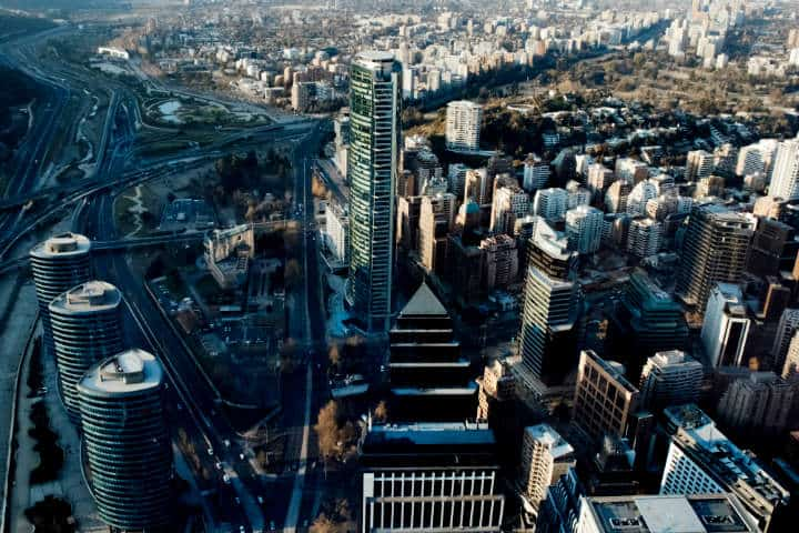 Ciudad de Santiago de Chile.Foto.Caio Silva.2