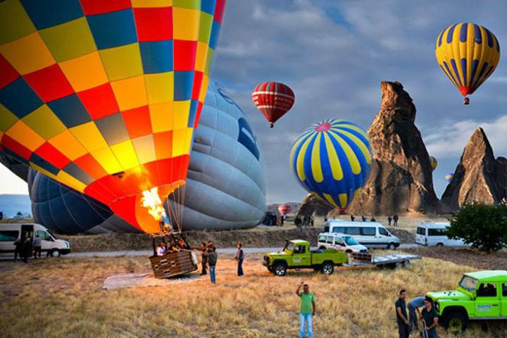 Colores y emociones juntas en Capadocia Foto TourRadar