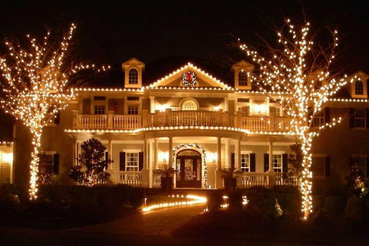 Decoración de casa navideña. Imagen DecoHogar 2