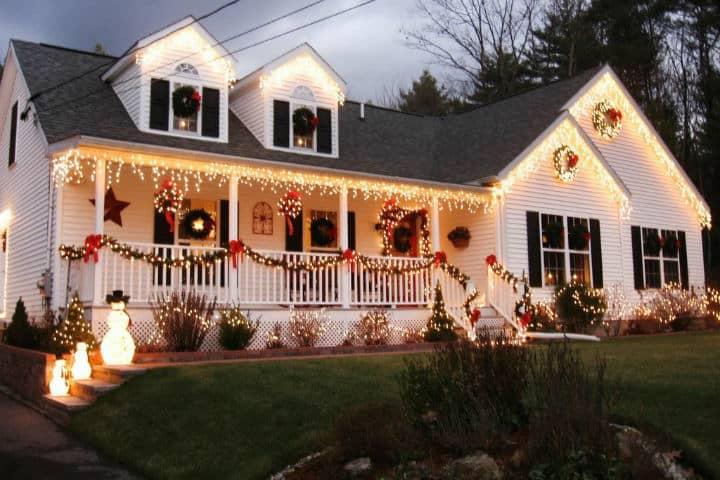 Decoración de casa navideña. Imagen Decoracion de salas 1