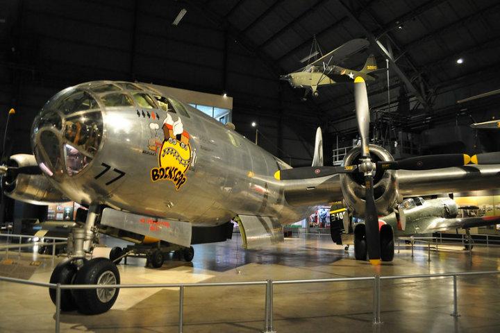 Éste es el famoso Bockscar, que causara un daño irreparable en Hiroshima al soltar la bomba atómica Fat Man Foto S Kaiser