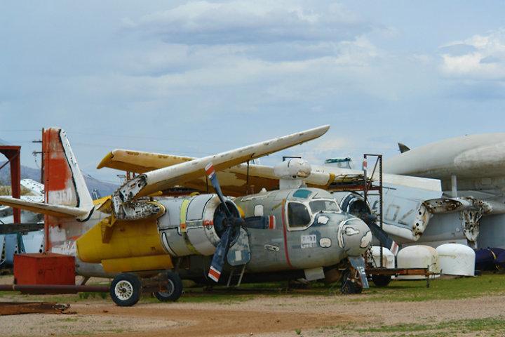 En el cementerio de aviones más grande del mundo vas a encontrar una variedad de naves que te sorprenderá Foto SearchNet Media