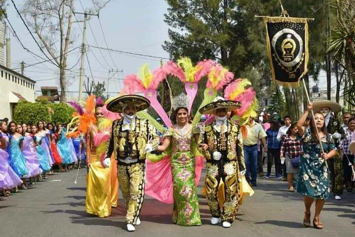 Ojalá puedas visitar San Francisco Tlaltenco durante su carnaval Foto Carnaval de San Francisco Tlaltenco