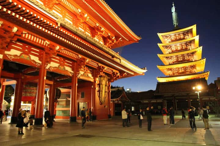 Pagoda. Tokyo. Imagen: GuiadeJapon