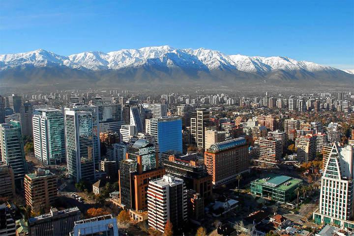 Santiago de Chile. Foto. Pantera Telecultura