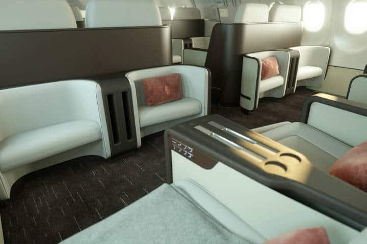 Vista de pasajero arriba del Jet. Foto: Archivo