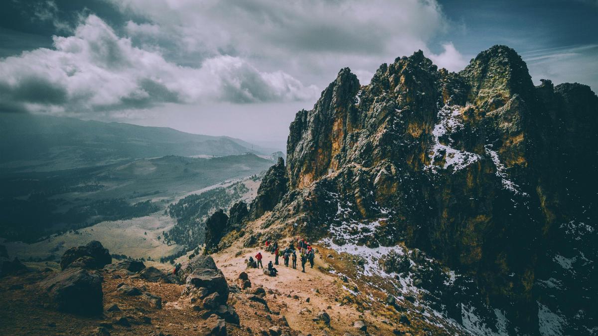 Volcánes de México Foto Victor Moran