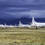 atardecer cementerio de aviones