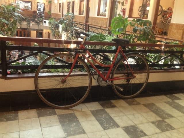 bicicleta barrio alameda