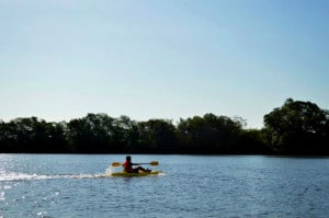 el madresal kayak laguna