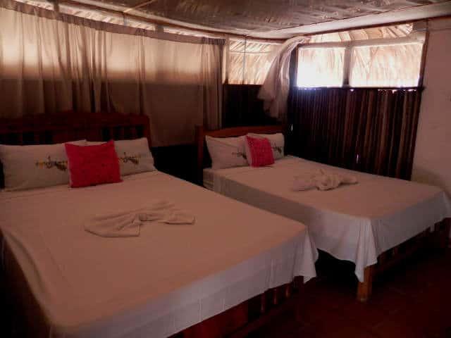 el madresal camas habitacion
