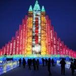 festival del hielo china