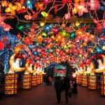 luces de navidad asia
