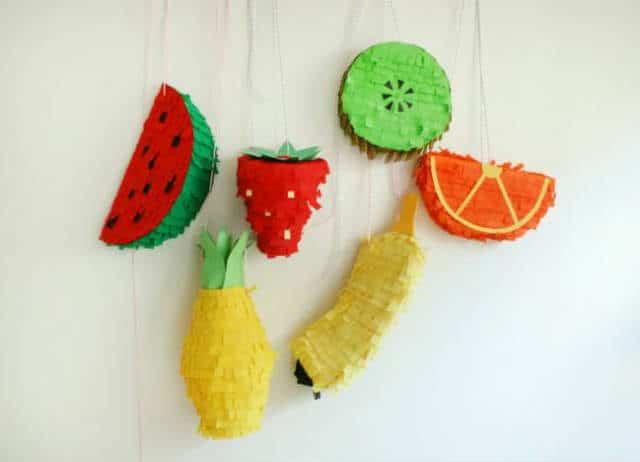 piñata de frutas my candy castle