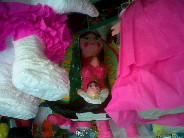piñata virgen