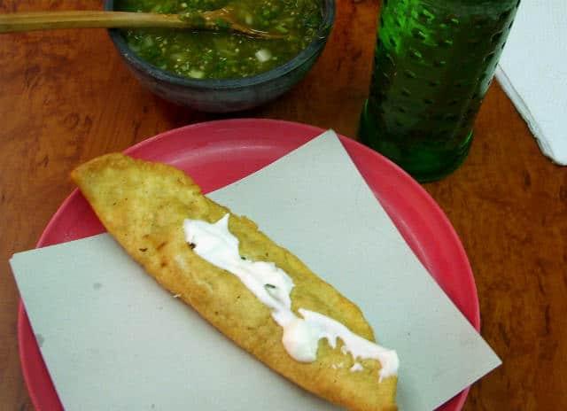 quesadilla con crema foto LWYang