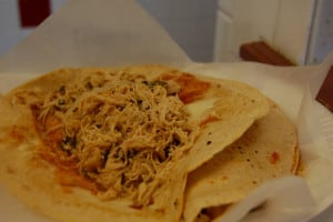 quesadilla de pollo foto stu_spivack