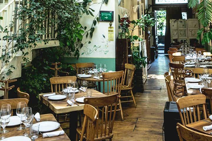 Restaurante Rosetta. Imagen: CDMX. Archivo