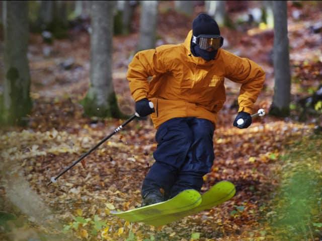 ski en pasto