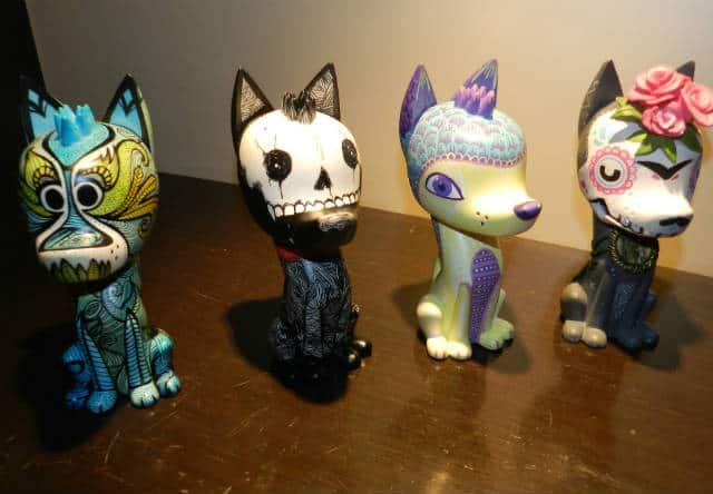 xoloitzcuintle esculturas