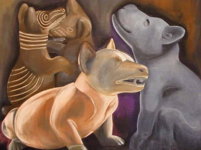 xoloitzcuintle pintura