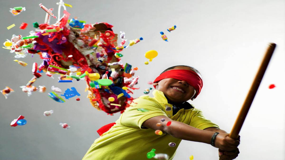 yo lo que quiero es romper la piñata