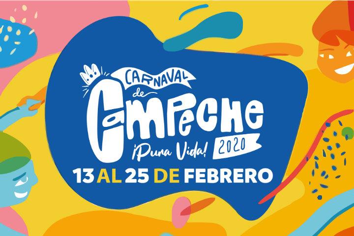 Éste fue el promocional de la última entrega Foto Carnaval de Campeche