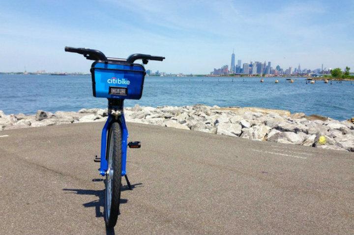 Nueva York te ofrece una divertida opción para recorrer la ciudad con Citi Bike Foto Archivo