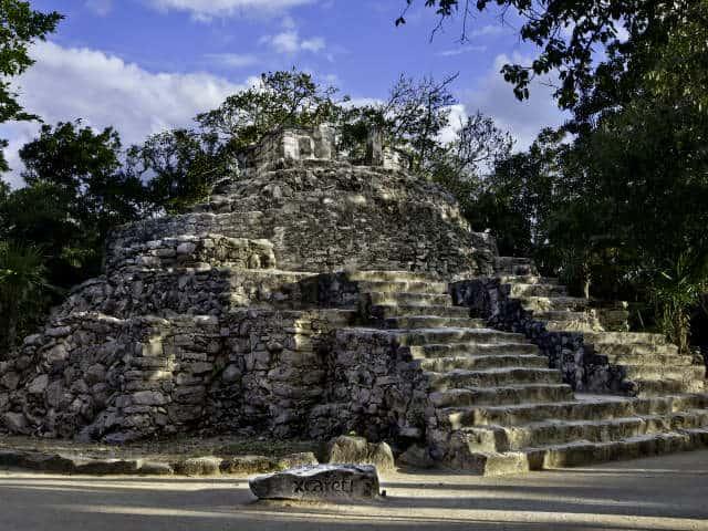 Xcaret 13 zona arqueologica