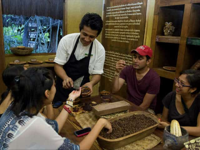 Xcaret 25 taller chocolate