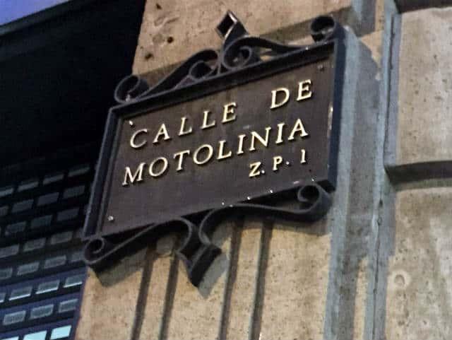 calle motolinia